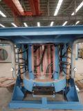 2 toneladas de horno fusorio de la inducción para el acero, fusión del metal del desecho del hierro, echando