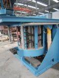 2 tonnellate di forno di fusione di induzione per acciaio, fusione dei metalli dello scarto del ferro, lanciante