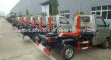 De praktische Kleine Vuilnisauto van het Wapen van de Haak van 6 Wielen 2 M3 aan 3m3 Broodje van Vrachtwagen