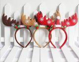 Fascia rossa dei capelli della fascia della vita della fascia della mano dell'inarcamento della testa del copricapo dell'orso della Santa del pupazzo di neve della Santa delle decorazioni di natale