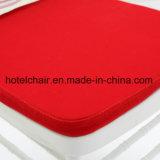 De verkoopbare Stoel van Chiavari van het Ijzer met Rood Kussen