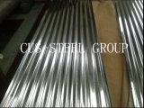 telha de telhadura ondulada revestida do metal do telhado Sheets/Gl do zinco de 900bc 800AC