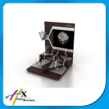 Wholesale Piano Glossy Paint Pillows Acrylic Watch Stand Display