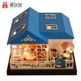 2017 grand Dollhouse en bois du jouet DIY de gosse
