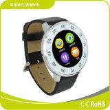 Relojes inteligentes Mtk2502 Soporte Androind iPhone del teléfono móvil Bluetooth podómetro sedentarios Siri