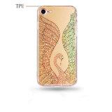 Роскошный противоударная Блестящие цветные лаки мелочь шаблон Суон TPU чехол для iPhone 7 7plus