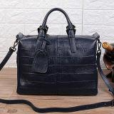 最も新しいデザインワニプリント革ハンドバッグの女性Emg5122のための贅沢な戦闘状況表示板のショルダー・バッグの卸売