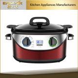 台所機器の世帯のマルチ炊事道具の遅い炊事道具1350W