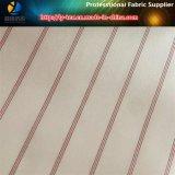 Красная линия подкладка втулки в ткани пряжи полиэфира покрашенной для одежды (S71.74)