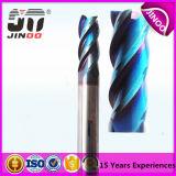 Couteaux de commande numérique par ordinateur de carbure de Jinoo 10xr1X25X10X75mm Chine
