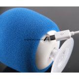 Haut-parleur portatif de mobile de forme de champignon de couche d'éponge de Bluetooth