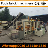 Автоматическая бетонная плита делая производственную линию Qt4-18 машины