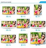 55 videowand-Stützvertikale Bildschirmanzeige des Zoll-1X3 LCD (MW-553VAD)