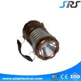 Lanterne solari domestiche portatili luminose di nuova vendita calda con l'indicatore luminoso di campeggio del caricatore del telefono