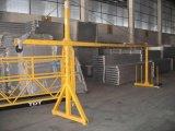 Zlp800 de l'acier plate-forme de station d'accès d'échafaudages suspendus gondole