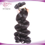 Extensions bon marché de cheveu d'onde desserrée indienne de cheveux humains de Vierge