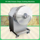 Gran formato de chips de batata, cortador, processador FC-582