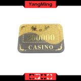 A vitória que bronzeia/microplaquetas acrílicas de cristal do póquer para o clube do póquer do casino lasca Ym-Cp006