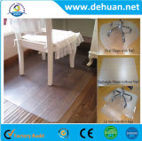 Rodillo plástico de la alfombra de la silla del PVC, precio de la alfombra del PVC, estera de la silla de la oficina del PVC