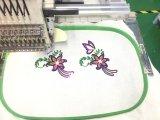 帽子の刺繍機械タイプコンピュータ化された操作12の針1ヘッド帽子の刺繍