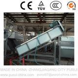 película plástica inútil de los PP del PE 1000kg/H que lava y que recicla la máquina