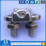 Corde de fils en acier inoxydable pince de câble