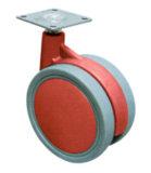 Офис предводительствует резиновый колеса, колеса для стулов офиса, колеса ролика для мебели