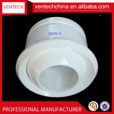 Ventilations-Aluminium-justierbarer Strahlen-Kugel-Luft-Luftauslaß