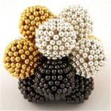 Esferas magnéticas da cor do ímã do Neodymium da junção de esfera do ímã das esferas 3mm do ímã