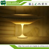 Lampe de table de nuit, lampe de table blanc