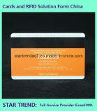 Cartão de caixa de cartão magnético com