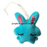 Peluche molle farcita sveglia animale Keychain del coniglio personalizzata Keychain della mini peluche poco costosa