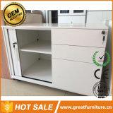 引き戸またはTambourのドアのファイリングキャビネットまたは鋼鉄移動式容器の軸受けが付いているオフィスのキャビネットの家具