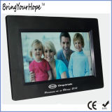 USB SD de 7 pulgadas Digital Photo Frame en plástico (XH-DPF-070S8)