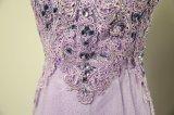 Robe de dames, robe de soirée de luxe, vêtement, ED005