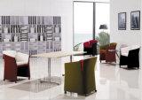 Cadeira de aço moderna do lazer de Upholstery da tela da base do metal (HX-5CH071)