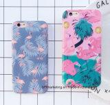 Weicher TPU IMD Karikatur-Flamingo-Telefon-Kasten für iPhone 8/8plus7/7plus/6s/6splus