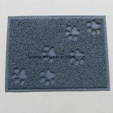 Assiette alimentante Placemat de cuvette de couvre-tapis de litière du chat d'animal familier de support de mousse