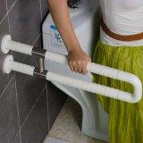 Barre di gru a benna di nylon a forma di U senza ostacoli della toletta di alta qualità per la stanza da bagno