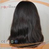 Parrucca bianca delle donne dei capelli umani di tecnica della parte superiore della pelle