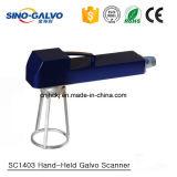 De Handbediende Laser Galvo die van Ce Sc1403 Systeem met het Ontwerp van Europa merken
