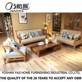 東南アジアのホーム家具CH-611のための現代純木ファブリックソファー