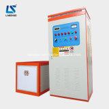 Máquina de aquecimento da indução do forjamento do metal do rolo do eixo