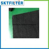 Medias de filtrage non tissés de carbone