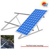 조정가능한 편평한 지붕 임명 태양 설치 구조 (NM010)