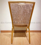 Hotel de aluminio sillas para banquetes con cuadrado Volver