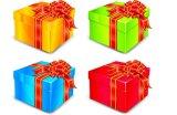 종이상자 또는 선물 상자 또는 종이 선물 상자 (Qualiprint)