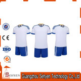Uniforme blanc du football du Jersey du football de Sublmated Parme