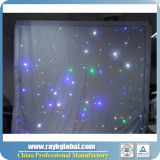 Cortina ao ar livre do diodo emissor de luz de 2016 cortinas leves quentes da estrela do diodo emissor de luz da cortina da estrela do RGB da venda