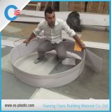 PVC Hot Stamping Painel de teto 250 mm de largura Decoração de parede de PVC